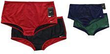 Nike Men's Reversible Poly Drag Swimsuit Brief Swim Trunks Mesh Shorts T8SS6031