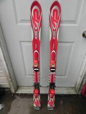 124 cm K2 Omni Jr skis solomon bindings c305