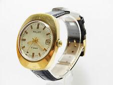 Vergoldete Poljot Armbanduhren