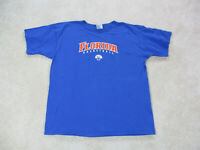 VINTAGE Nike Florida Gators Shirt Adult Large Blue Orange UF Basketball Mens A33