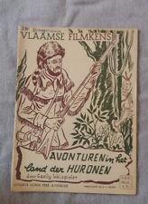 Vlaamse Filmkens N°210 Avonturen in het land der Huronen Averbode
