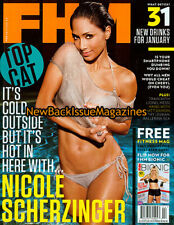 UK FHM 2/11,Nicole Scherzinger,Lionel Messi,Zoe Salmon,February 2011,NEW
