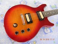 Slammer Electric Guitar, Hot Zebra Pickups,Coil Splitting,Capacitor Upgrade,Nice