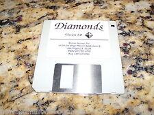 Diamonds Version 2.0 (PC, 1992) Game MS-Dos 3.5 Inch Floppy Disk (Near Mint)