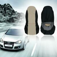 Universal Car Front Rear Seat Covers Cushion Pad for Crossovers SUV beige