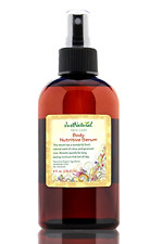 Body Nutritive Serum Just Natural Products Organic Handmade Fresh 8 Fluid Ounce