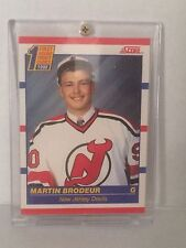 1990 Score Martin Brodeur #439 Hockey Card