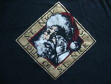 Vintage Christmas Santa Clause Jolly Ol Saint Nick T Shirt XL
