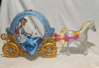 Disney Cinderella Transforming Pumpkin Carriage Horse & Light up Musical Doll