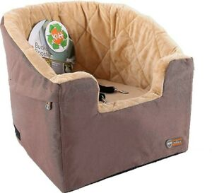 """K&H Pet Products Bucket Car Booster Seat, Tan, 14.5 x 20"""","""
