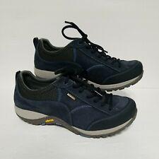 Dansko Womens 40 Paisley Waterproof Vibram Lace Up Hiking Shoes Navy 4350751075