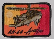Aufnäher Patch Abzeichen Helicopter AH-64 Apache US-Army .........A3890