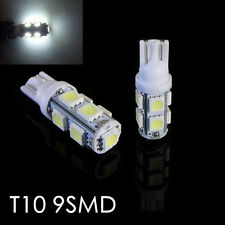4PCS Super White T10 9-SMD Wedge 5050 LED bulbs High Mount 3rd Brake Stop Light