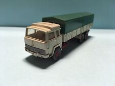 Wiking Magirus Deutz 235 TE 47m Transport Truck Green/Beige 1/87 Scale
