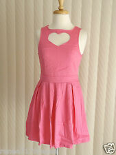 Paper Heart Pink Heart Dress Size 8 or 10 Express Post