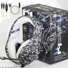 Stereo Gaming Headsets Headphones For PS4 Xbox one PC Laptop With Microphone US