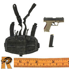 Gemini Vicky - Pistol w/ Drop Holster - 1/6 Scale - Damtoys Action Figures