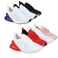 Damen Laufschuhe Strick Sportschuhe Schnürer Turnschuhe Sneaker 826171 Schuhe