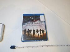 Act Of Valor Motion picture active duty Navy Seals USA military Blu Ray disc NEW