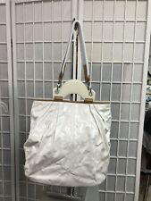 BB Dakota Woman Bag New Sprint Summer Tote  New White Vintage