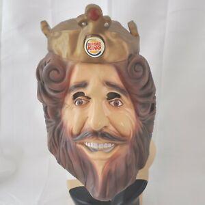 Burger King Mask Full Facial Latex Halloween Rubies Costumes 2007 Cosplay King