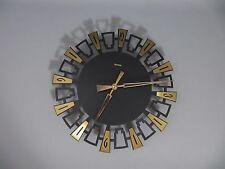 50s 60s HERMLE WANDUHR Rockabilly Nierentisch Ära - nice wall clock