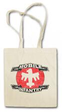 Mobile Infantry logotipo sustancia bolso bolsa de compras Starship Army Troopers logotipo