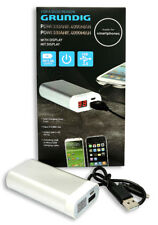 Grundig USB Powerbank 4000mAh Handy MP3 Mobiler Tragbar Ladegerät Zusatzakku