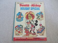 Walt Disney's  Donald & Mickey Holiday Special comic, 1973- Good condition