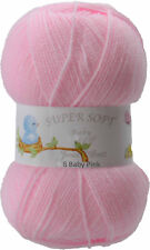 BABY KNITTING WOOL  ARAN , 4 PLY , DOUBLE KNIT  JAMES BRETT YARN  COLOUR CHOICE