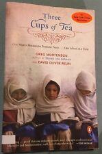 Three Cups of Tea by Greg Mortenson (PB, 2007)