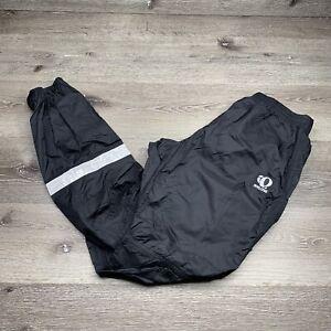 PEARL IZUMI Cycling Pants Nylon Black Waterproof Rain Bike Bicycle Size M Medium