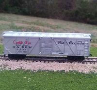 Life Like 40 Outside Brace Box Car Denver and Rio Grande Western Cookie Box