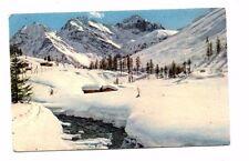 Switzerland - Sertigtal, Hochducan & Kuhalptalhorn - Vintage Postcard
