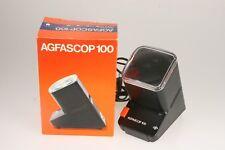 Agfa Agfascop 100 Diabetrachter mit OVP