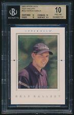 2001 Upper Deck Golf Gallery rookie #GG2 Sergio Garcia rc BGS 10 Pristine