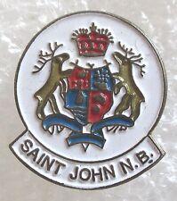 Vintage Saint John, New Brunswick, Canada Travel Souvenir Collector Pin