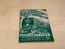1945 Ian Allan The A.B.C. of Southern Locomotives - VGC - Unmarked