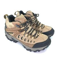 Merrell Mens Kinetic Mid Hiking Trail Boots Brown Lace Up Waterproof EUR 42 8.5