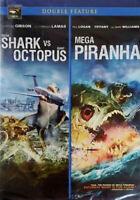 Mega Shark vs Giant Octopus / Mega Piranha (DVD, 2010) Double Featu  - Brand New