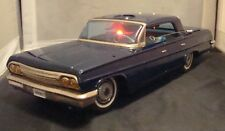 1960s VINTAGE & RARE CHEVROLET UNMARKED SECRET AGENTS TIN CAR! MADE IN JAPAN!