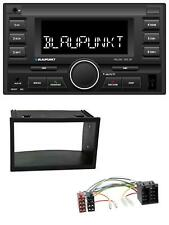 Blaupunkt mp3 USB 2din Bluetooth aux radio del coche para VW Golf 4 polo t4 fox Passat
