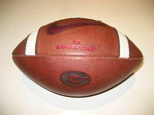 2018 Georgia Bulldogs GAME USED Nike Vapor One 1 Football University - 2 COLORS
