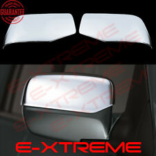 FOR HONDA PILOT 2009-2012 2013 2014 2015 CHROME MIRROR COVERS W/OUT TURN SIGNAL