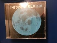 R E M.           THE. BEST. OF. R E M             EIGHTEEN  TRACK  COMPACT DISC