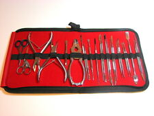 Chiropody Podiatry Nail Clippers Nippers Cutters Podiatry Instruments Kit 23pcs