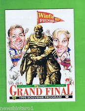#OO.  1995   RUGBY LEAGUE GRANDFINAL PROGRAM - BULLDOGS V MANLY