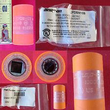"New Snap On 3/8"" 12 Pts Non Conductive Composite 10MM Orange Socket CFDSM10B"