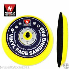 """REPLACEMENT 6"""" INCH ROUND HOOK AND LOOP DA SANDING PAD"""