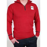 G-Star 3301 Rise 1/2 Zip Knit Strick Pullover Sweat-Shirt Herren Gr. M neu